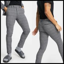 ASOS DESIGN super skinny soft tailored wool mix suit trouser