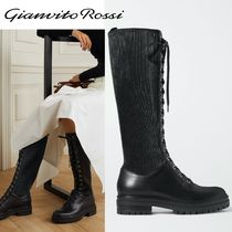 ∞∞ Gianvito Rossi ∞∞ Martis leather lace up ブーツ☆