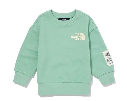 THE NORTH FACE キッズ用トップス 人気★関税込★The North Face★K'S ESSENTIAL SWEATSHIRT.S★(12)