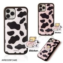 A PIECE OF CAKE★限定販売★携帯ケース Cow Pattern Phone Case