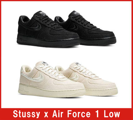 Nike スニーカー 【希少/送料・関税込み/コラボ】Stussy x Air Force 1 Low