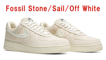 Nike スニーカー 【希少/送料・関税込み/コラボ】Stussy x Air Force 1 Low(9)