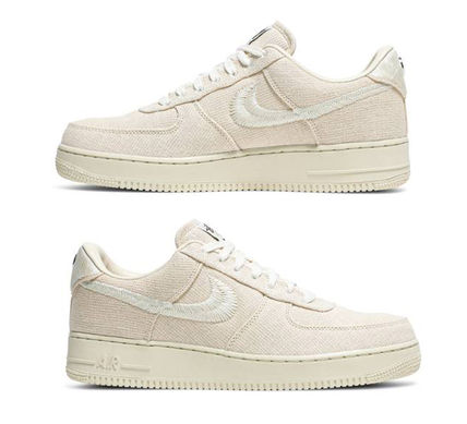 Nike スニーカー 【希少/送料・関税込み/コラボ】Stussy x Air Force 1 Low(10)