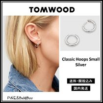 *TOM WOOD* Classic Hoops Small Silver フープピアス【関送込】