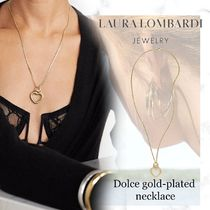 NEW!アメリカ発【Laura Lombardi】Dolce gold-plated ネックレス