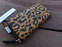 Marc Jacobs Leopard Print Quilted Wallet レオパード柄 長財布