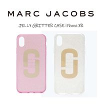 MARC JACOBS JELLY GRITTER CASE iPhone XR 【送料0/国内即発】