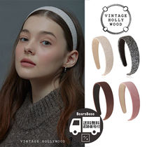 VINTAGE HOLLYWOOD Carrie Wide Hairband_4color BBH1162 追跡付