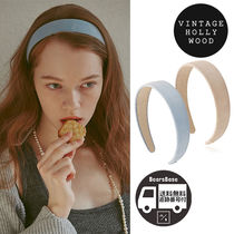 VINTAGE HOLLYWOOD Carrie Wide Hairband_2color BBH1167 追跡付