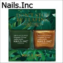 【Nails.Inc】ビーガンネイル2色セット Don't Stop Be-Leafing