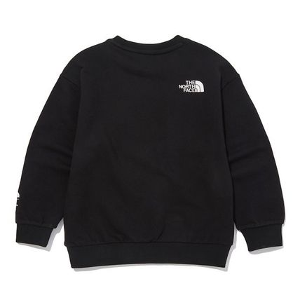 THE NORTH FACE キッズ用トップス ★THE NORTH FACE★キッズ K'S ESSENTIAL SWEATSHIRTS NM5MM02(6)