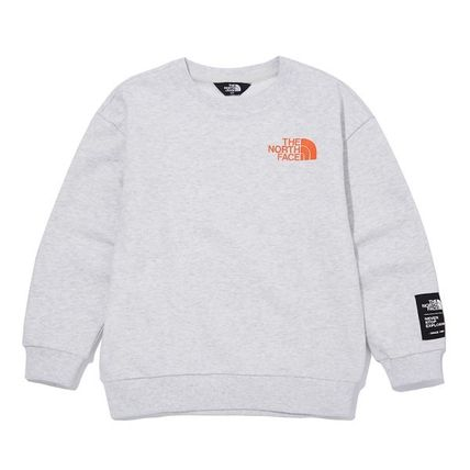 THE NORTH FACE キッズ用トップス ★THE NORTH FACE★キッズ K'S ESSENTIAL SWEATSHIRTS NM5MM02(7)