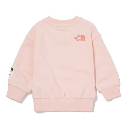 THE NORTH FACE キッズ用トップス ★THE NORTH FACE★キッズ K'S ESSENTIAL SWEATSHIRTS NM5MM02(12)