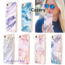 Casery(ケースリー) iPhone・スマホケース ★お洒落♪★セールCasery Marble iPhone8/7/6s(Plus)&X/Xs★