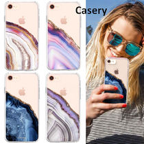Casery(ケースリー) iPhone・スマホケース ★お洒落♪★セールCasery Agate iPhone8/7/6s(Plus)&X/Xs★