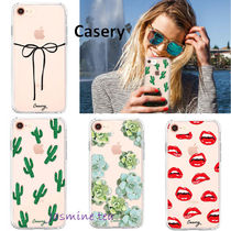 Casery(ケースリー) iPhone・スマホケース ★お洒落♪★Casery Printed iPhone8/7/6s(Plus)&X/Xs Case★