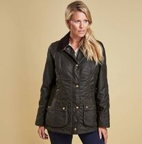Barbour(バブアー) ブルゾン Barbour Womens Monteviot Waxed Jacket  【即発】【size:S】