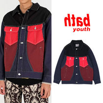 ★YOUTHBATH★新作★送料込み★韓国★4 COLORED TRUCKER JACKET