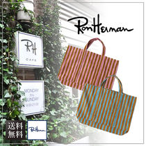 【送料無料】Ron Herman ロンハーマン Oversized Canvas Tote