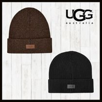 ★20/21AW【UGG】Ribbed Wide-Cuff Beanie ニット帽