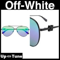 【Off-White】 For The Sun アロー アビエーター サングラス