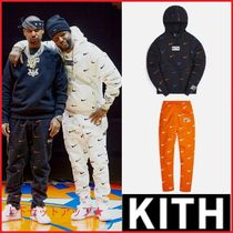 Kith & Nike for New York ★Knicks AOP フリース セットアップ