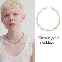 Justine Clenquet(ジュスティーヌクランケ) ネックレス・ペンダント 送料税込【Justine Clenquet】Kirsten gold necklace☆国内発送