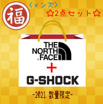 【2021福袋】THE NORTH FACE フリース+CASIO G-SHOCK セット