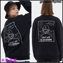 【GROOVE RHYME】◆人気 ◆UNTACT TRAVELING SWEAT SHIRTS◆