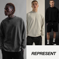 【送料無料】BLANK LONG SLEEVE T-SHIRT  -REPRESENT-