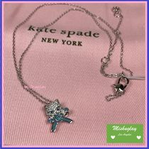 【kate spade】国内即発★ pretty kitty pave mini pendant ★