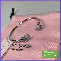 【kate spade】国内即発★ pretty kitty pave flex cuff ★