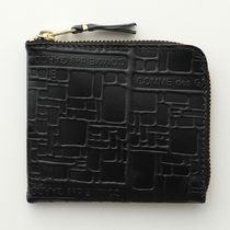 COMME DES GARCONS コインケース SA3100EL EMBOSSED LOGOTYPE