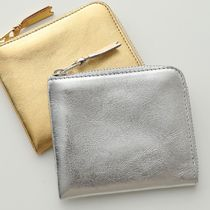 COMME DES GARCONS コインケース SA3100G GOLD AND SILVER