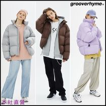 【GROOVE RHYME】◆DOPE DUCK DOWN SHORT PADDING JUMPER◆