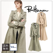 【送料無料】Ron Herman ロンハーマンCotton Linen Tumbler Coat