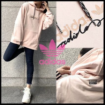 国内発送・正規品★adidas Originals★MEN'S PALE PINK HOODIE