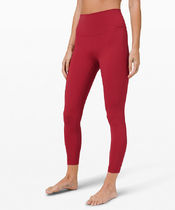 "セール!Wunder Under HR Tight 25"" - Soft Cranberry"