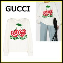 GUCCI☆チェリー プリント スウェット【国内発・関税込】