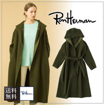 【送料無料】Ron Herman ロンハーマン Soft Melton Hooded Coat