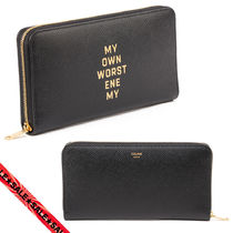 CELINE Large Zipped Wallet by David Kramer