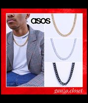 ASOS  DESIGN Short chunky chain/3色・gold/silver/black