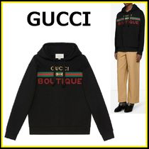 GUCCI☆BOUTIQUE プリント スウェット【国内発・関税込】
