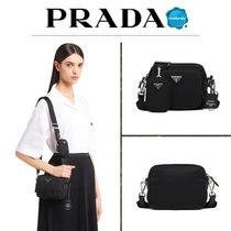 【PRADA】Re Edition 2005 ナイロン バッグ キーリング ロゴ
