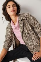 Solitaire ★ Leopard Trench Coat