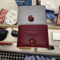 【COACH】CARD CASE WITH APPLE