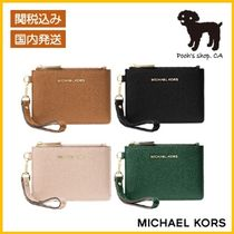 【Michael Kors】Leather Coin Purse◆国内発送◆