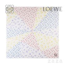 LOEWE★ロエベ Scarf in modal and cashmere