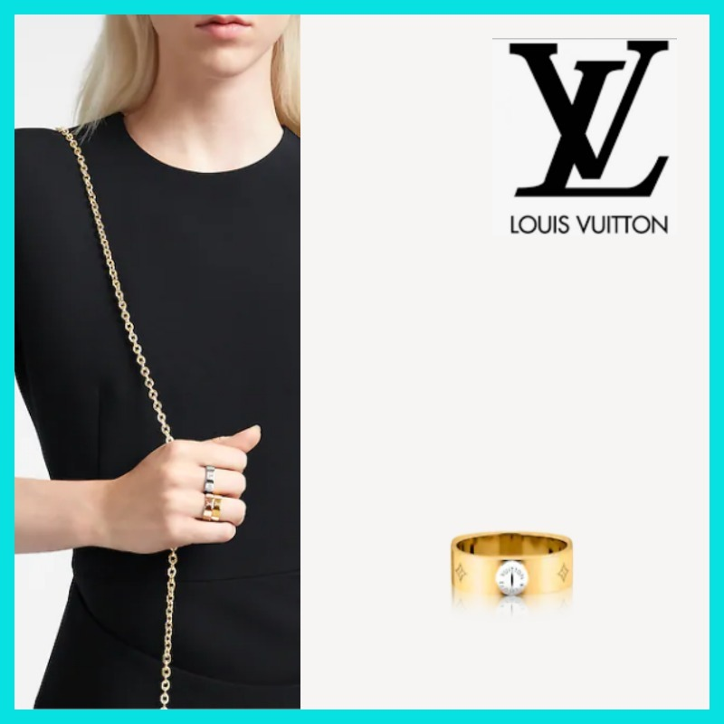 Louis Vuitton ルイヴィトン リング 指輪 プレゼント 人気 (Louis Vuitton/指輪・リング) M00210  M00211