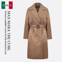Max Mara The Cube Greenco padded nylon double-breasted coat